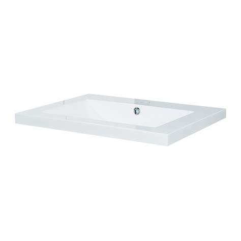 Polymarble Vanity Tops by Estilo 600mm Polymarble Vanity Top Bunnings Warehouse