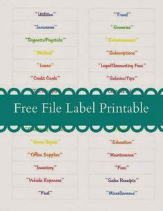 organization labels your file folders coupons binders organization labels your file folders coupons binders