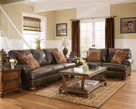 Rustic Leather Living Room Furniture 25 Rustic Living Room Design Ideas For Your Home