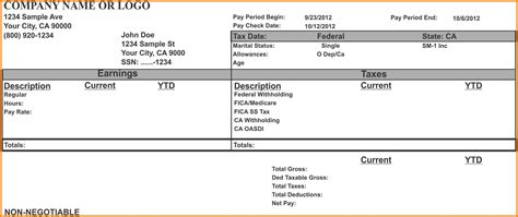 5 Make Your Own Payroll Checks Sles Of Paystubs Print Your Own Checks Template