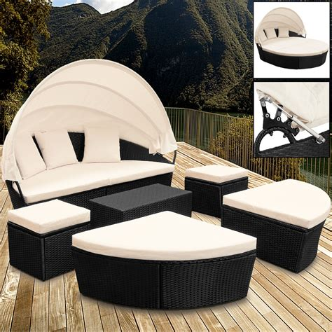 luxury outdoor lounge bed with canopy 232011 patio rattan garden furniture set patio day bed sun canopy sofa