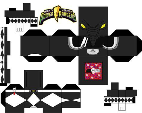 Power Rangers Morpher Papercraft - black power ranger by guitar6god on deviantart paper