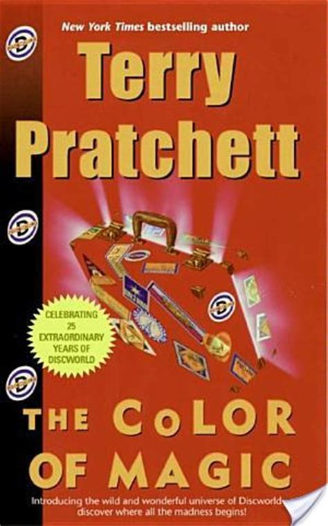 the color of magic book book review the color of magic by terry pratchett