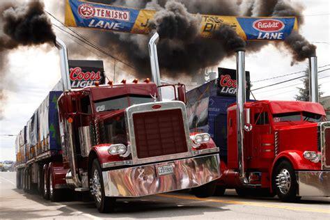 Peterbilt Truck Racing peterbilt 379 maximum acceleration