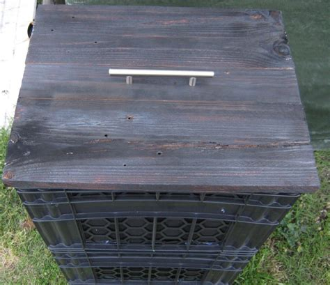 milkcrate composter vertically stacked compost bin