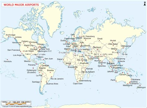 map world airports international cargo express