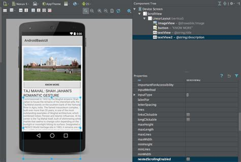 android layout with exles android scrollview exle stacktips