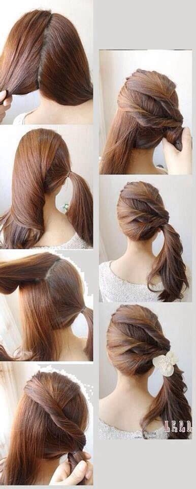 best quick and simple hairstyle pics tutorial just bridal quick and simple hairstyles