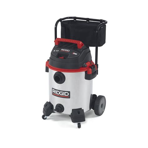 Ridgid 1610rv Stainless Steel Sixteen Gallon Wet Dry
