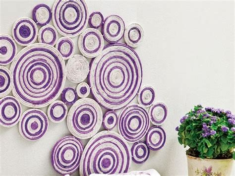 How To Make A Jewelry Roll - diy wall art projects using newspaper kitchen and bedroom wall decor