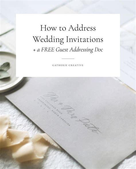 how to address wedding invites best 25 envelope addressing etiquette ideas on