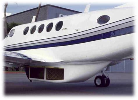 commuter air technology provides stc d cargo pods for kingair 100 200 300 series kingairnation