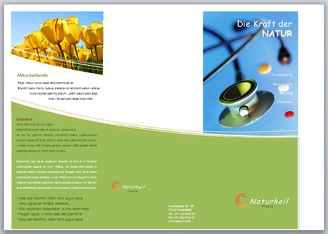Word Design Vorlagen Erstellen flyer vorlagen in word 2010 erstellen und bearbeiten