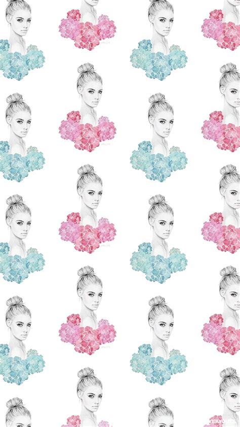 wallpaper iphone lucu tumblr beautiful floral girl whatsapp wallpaper floral whatsapp