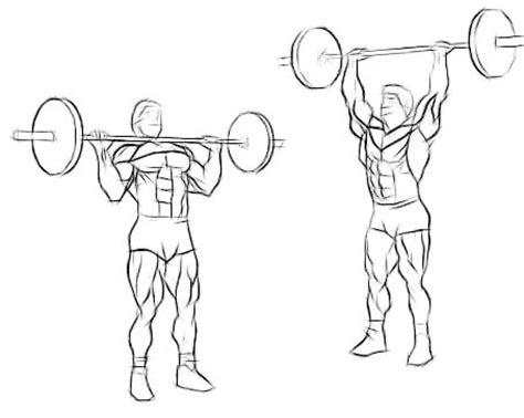 shoulder press diagram how to improve posture 3 exercises to build big shoulders