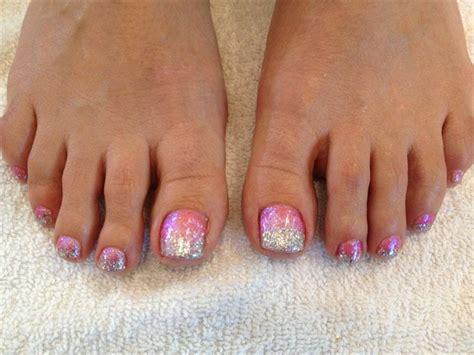 Silver Toe Nail Designs