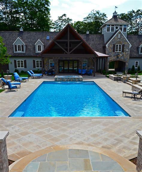 pool patio designs far nj inground swimming pool awarded for design