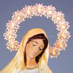 madonna illuminata medjugorje statua madonna di medjugorje spedizione gratis
