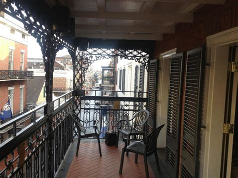 Balcony Rooms In New Orleans by 3rd Floor King Balcony Room Facing Bourbon Street Great