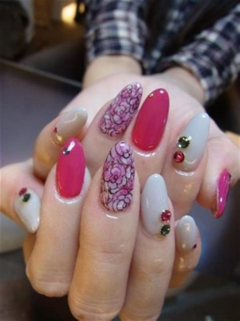 superb yet creative pink nail art designs and galleries