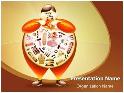 15 best images about obesity powerpoint templates on