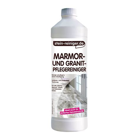 granit reinigen marmor und granit pflegereiniger konzentrat 1l reinigen