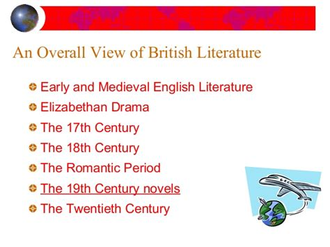 themes in british literature in the 20th century 18th and 19th century literature