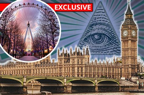 London Clock Tower by Big Ben Is An Illuminati Hq As London Eye Watches Over