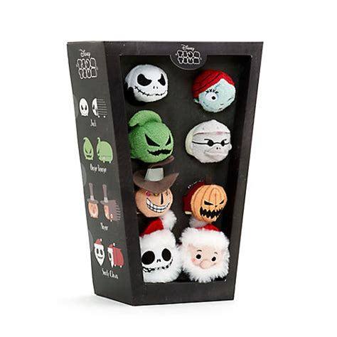 the nightmare before christmas mini tsum tsums set of 8