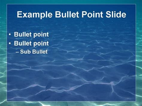powerpoint templates free download ocean underwater template