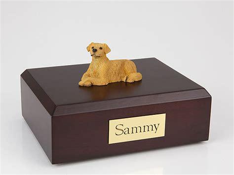 golden retriever urn golden retriever laying figurine urn memorial urns