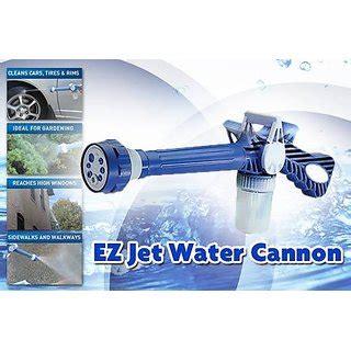 Ez Jet Water Cannon Turbo Water Spray Gun imported ez jet water cannon 8 in 1 turbo water spray gun easy jet gun high water pressure spray