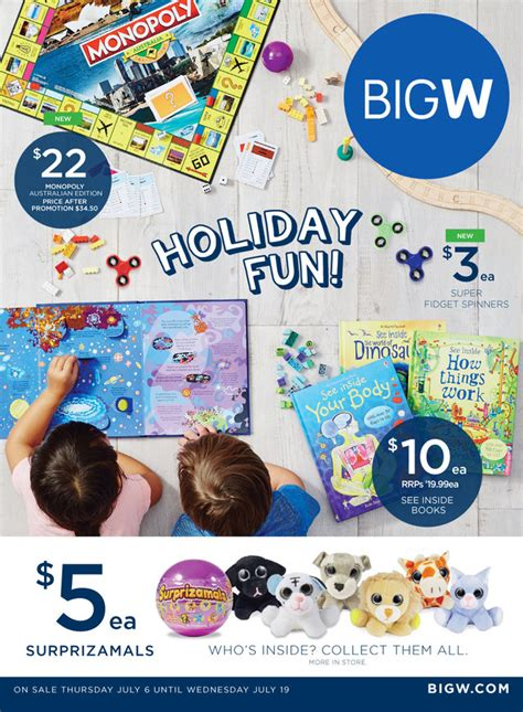 big w catalogue holiday 6 19 july 2017