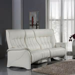 Curved Recliner Sofa Himolla Cumuly Rhine 3 Seater Curved Manual Reclining Sofa With Table