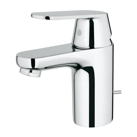 home depot kitchen sink faucets grohe eurosmart cosmopolitan single single handle bathroom faucet in starlight chrome