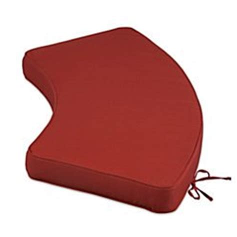 curved fire pit bench cushions buy fire pit bench cushion red brick improvements