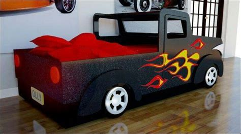 truck beds for toddlers truck bed kids designs pinterest 3rd birthday hoods