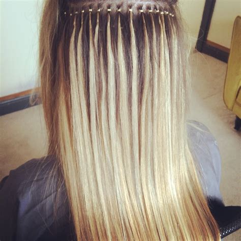 hairstyles for micro ring hair extensions nano ring hair extensions beauty pinterest hair