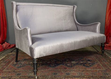 french settee for sale french 19th century velvet settee for sale at 1stdibs