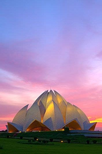 Places Near Lotus Temple Lotus Temple New Delhi India One Of The Most
