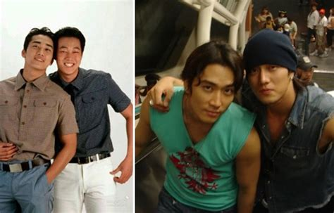 so ji sub close friends 12 korean actors who are best friends in real life