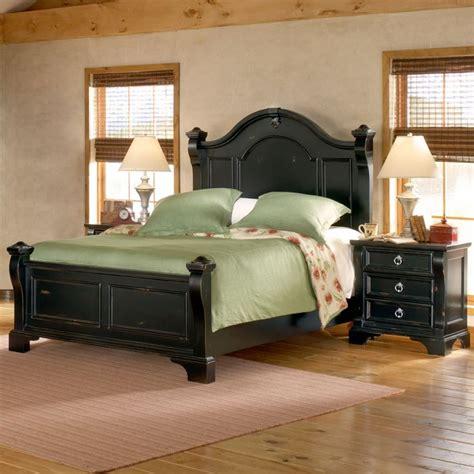 black 3 piece bedroom set heirloom 3 piece bedroom set in black dcg stores