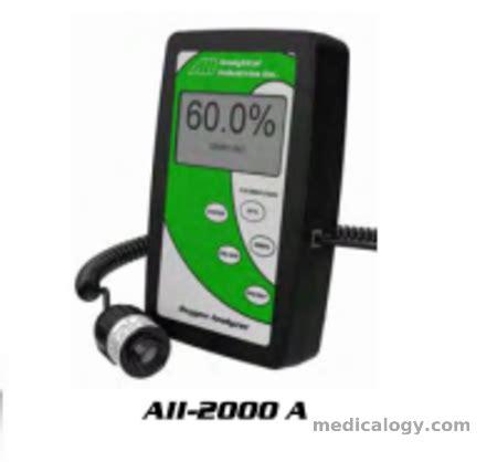 Kalibrasi Tensimeter aii oxygen analyzer 2000a