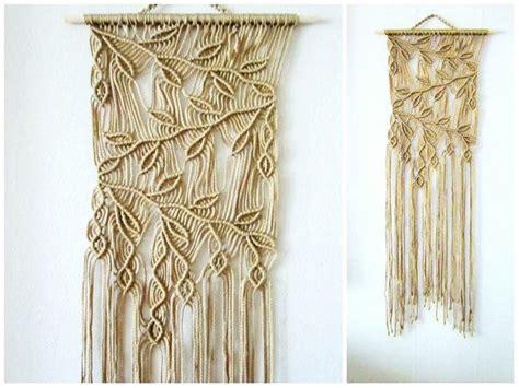 Hemp Curtain Panels From Doc by Macrame Wall Hanging Sprigs 2 Handmade Macrame Home