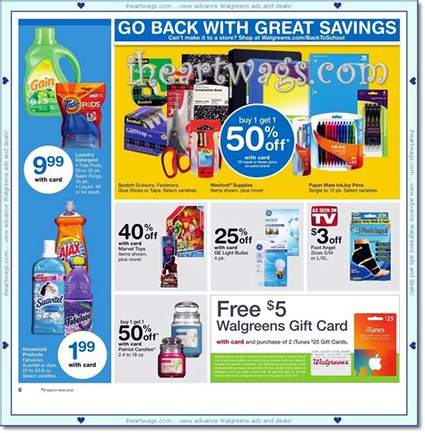 Get Rite Aid Gift Card Balance - i heart wags ad scans 09 11 09 17
