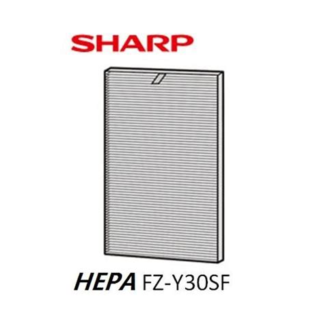 Ac Portable Sharp Fu Y30e sharp air purifier hepa filter fz y30sfe mega discount store