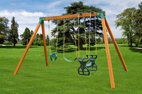 kids wooden swing sets classic kids swing set best swing sets eastern jungle gym