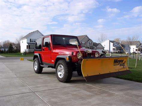 jeep wrangler snow plow 1000 images about jeep snow removal on pinterest snow