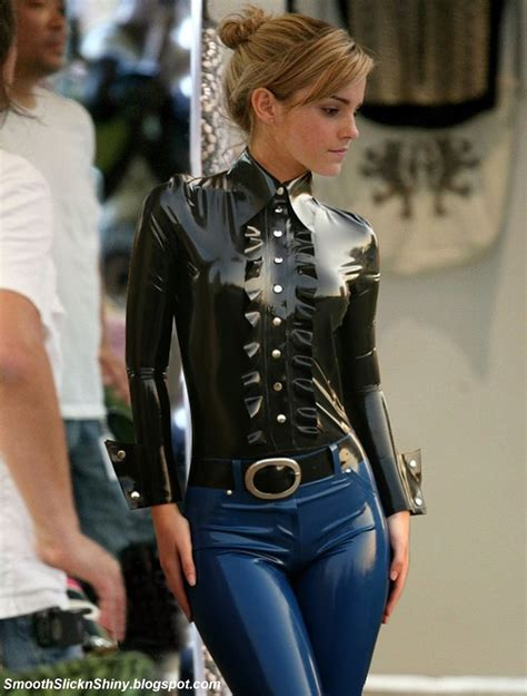 57 photos of emma watson in a tight short skirt gceleb emma watson in shiny latex blouse and jeans by andylatex