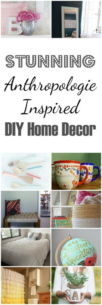 anthropologie home decor anthropologie inspired diy home decor hacks painted